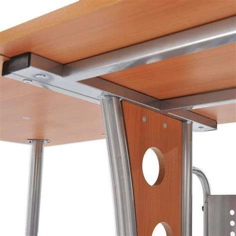 homcom l shaped desk homcom modern l shaped workstation computer desk
