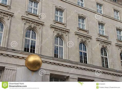 bank aistria bank austria kunstforum vienna austria stock photo