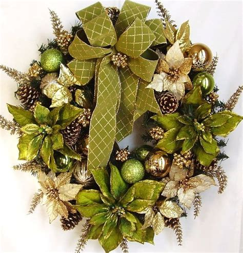beautiful wreaths fall autumn winter christmas holiday pistachio green