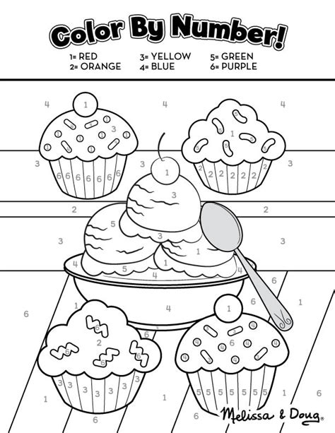 preschool ice cream coloring pages sweet treats educational printable activity pages for kids
