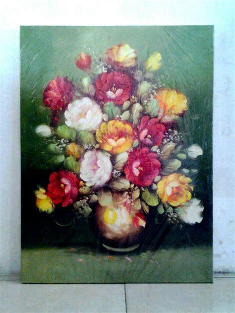 Bunga Roll Jual Lukisan Bunga Kanvas Roll Wingallery