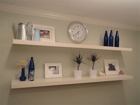 Creative Uses Of Floating Shelves From Ikea For Stylish Ikea Picture Shelves
