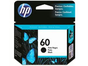 Tinta Hp Cc643w 60 Color cartucho de tinta hp 60 negro modelo cc640wl