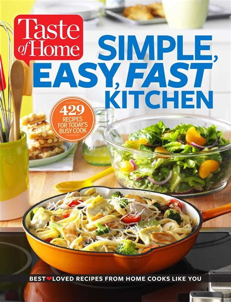 taste of home simple easy fast kitchen 429 recipes for