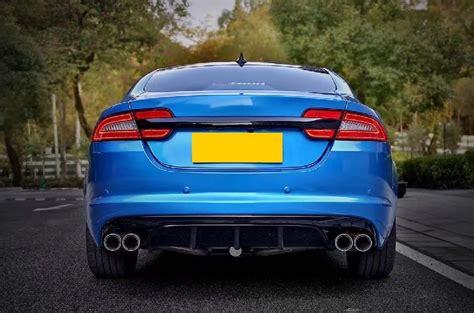 jaguar xfr exhaust jaguar x250 08 15 xf xfr s rear carbon fibre diffuser