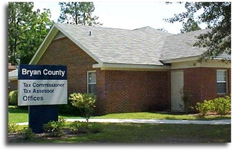 Bryan County Property Tax Records Bryan County Tax Assessors