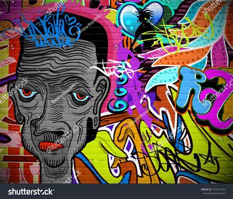 design urban art graffiti wall urban art background grunge hip hop
