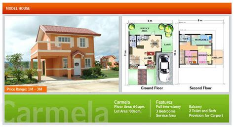 camella homes design with floor plan terraces woodberry model houses camella homes the