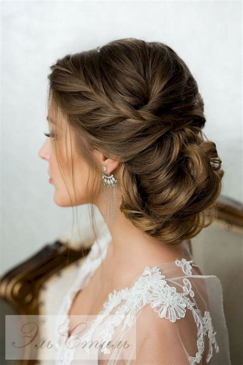 Wedding Hair With Dress by Hair Bridal Hairstyles Montenr