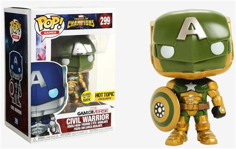 Where Can I Buy A Hot Topic Gift Card - hot topic exclusive gitd civil warrior funko pop out now fpn