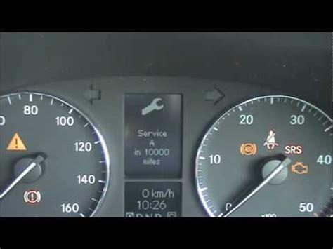 mercedes c class engine warning light mercedes c class service light reset