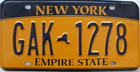 Ny State Vanity Plates new york license plates new york license plates new york license plates for sale new