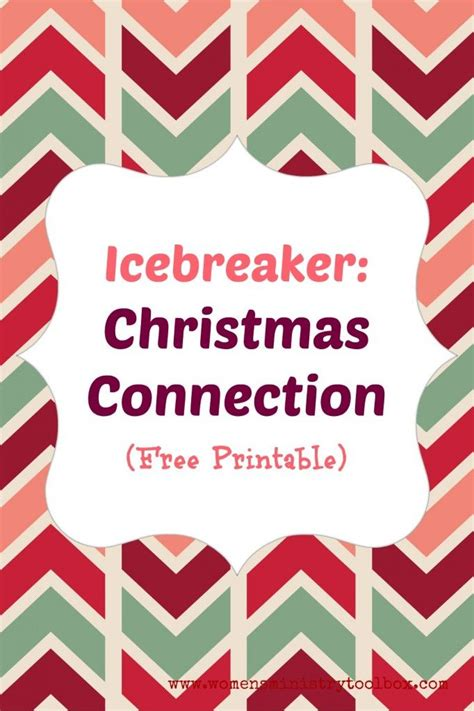 adult christmas icebreakers 1000 images about free printables for s ministry on bingo bathroom signs and