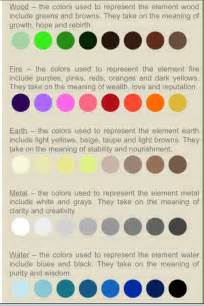 paint color meanings feng shui tip if you are going to paint why not use colors with meaning this color chart