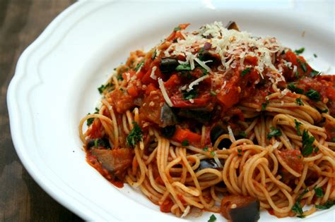 Fast Easy Dinner Spicy Eggplant Puttanesca by Spicy Eggplant Pasta Dash Of Savory Cook With