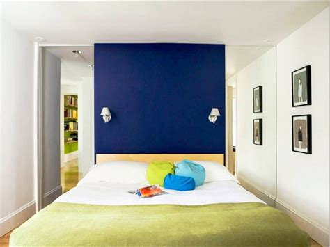 Royal Blue Painted Bed Room Blue Bedroom Color Ideas Blue Colorful Bedroom Wall Designs