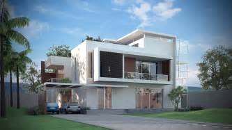 3d Home Modeling 3d Models Luxury Contemporary House 3d Model Max Obj