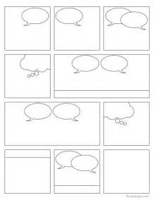 free printable comic book panels my graphic design
