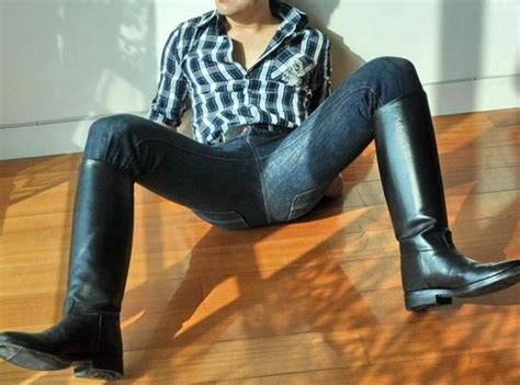 images  guys  sexy jeans  boots  pinterest polo boots western boots
