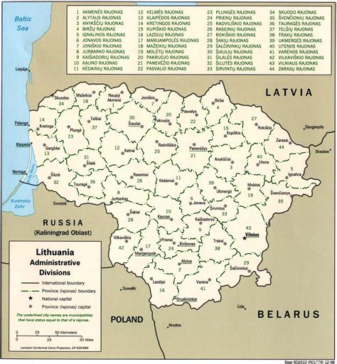 map of lithuania lithuania maps perry casta 241 eda map collection ut