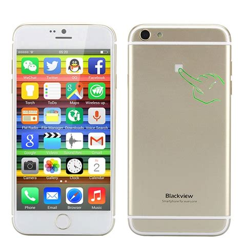 Premium Iphone 6 Look A Like iphone 6 look alike running android 4 4 with back touch blackview ultra a6 phones nigeria