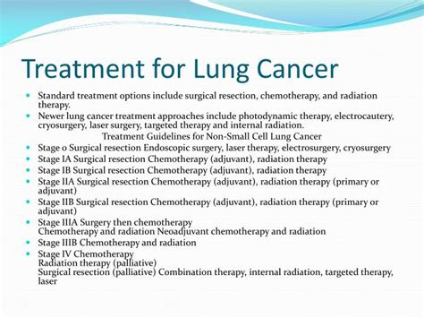 is there a cure for lung cancer how to check for lung cancer the one step home care