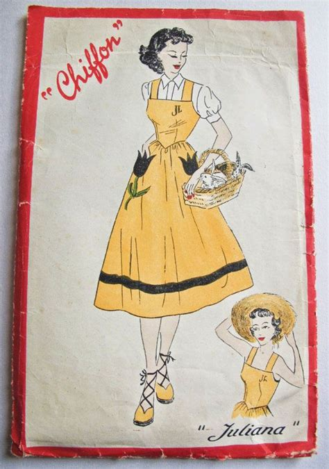 pattern for french apron 37 best 50 s vintage sewing patterns images on pinterest