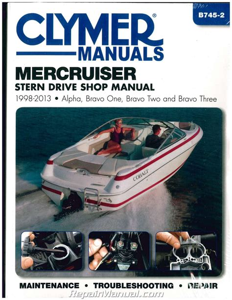 mercers marine outdoor 2011 2012 product catalogue by mercruiser 1998 2013 clymer stern drive boat engine repair