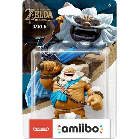 Promo Amiibo Daruk The Legend Of Breath Of The daruk goron chion the legend of breath of the nintendo amiibo amiibo