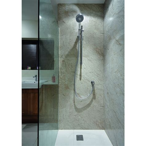 bathroom board bushboard nuance corner shower board pack 1200mm uk bathrooms