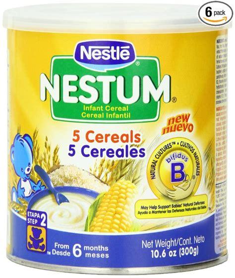 Nestum Cereal nestle nestum 5 cereals infant cereal clean label project