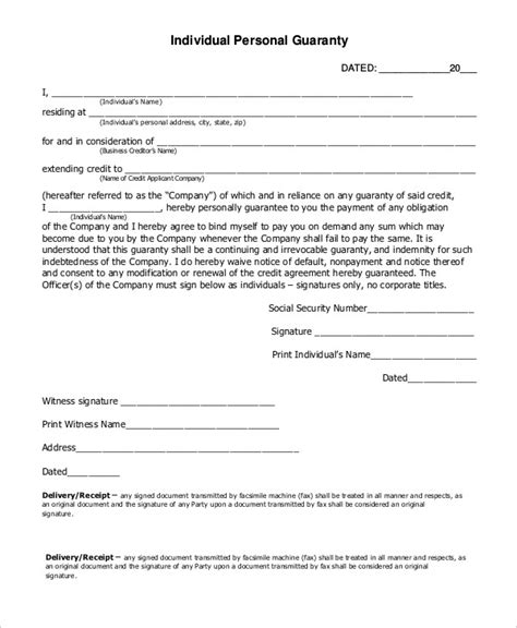 Release Letter Pledge how to write a guarantor letter for employment cover