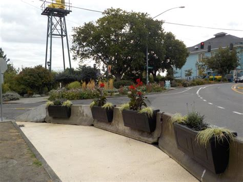 Concrete Planters Seattle by Tactical Urbanism Materials And Design Guide
