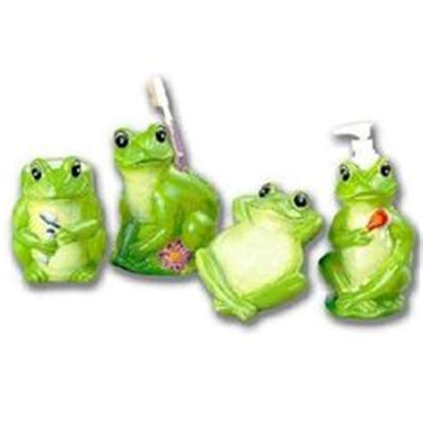 frog bathroom accessories frog bathroom stuff on bath accessories frogs