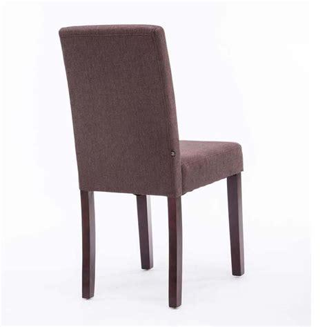 tessuti per sedie sedia per ospiti mita tessuto gambe in legno marrone