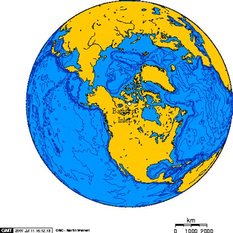 file:orthographic projection over bathurst inlet, nunavut