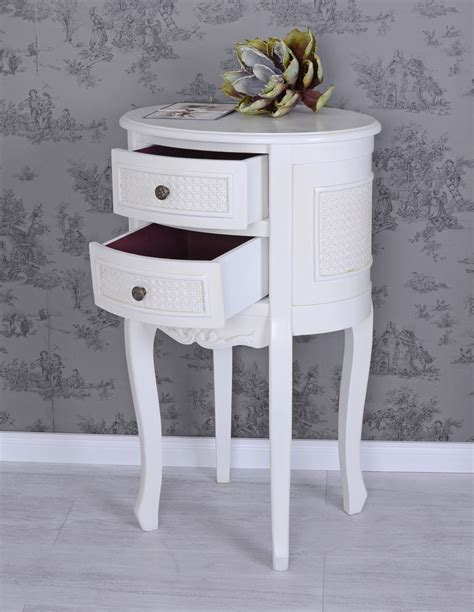 Nachttisch Vintage by Vintage Bedside Table White Nightstand Shabby Chic