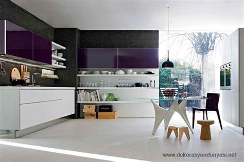 fresh contemporary kitchen colours with 20 modern ki 3995 mor mutfak dekorasyon d 252 nyası