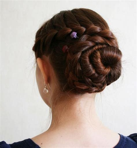 how to put thick braids in a bun 20 gorgeous braided hairstyles for long hair hairstyle
