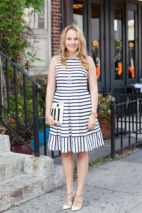 Stripi Dres Black the striped dress the stripe