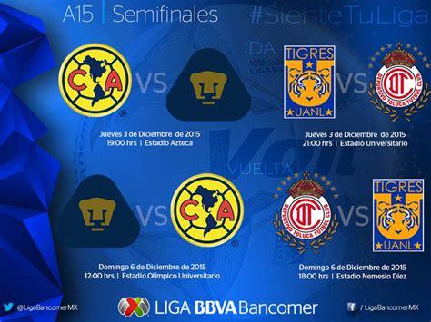 Calendario Liga Mx Apertura 2015 Apertura Liga Mx 2015 Calendariolaboral Mx