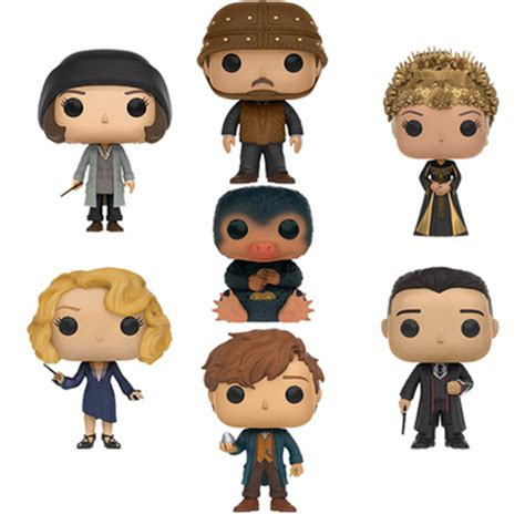 Fantastic Beast Pop Tina Goldstein fantastic beasts and where to find them pop vinyl set of