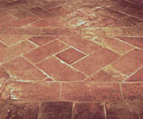 pavimento finto cotto cotto effetto antico