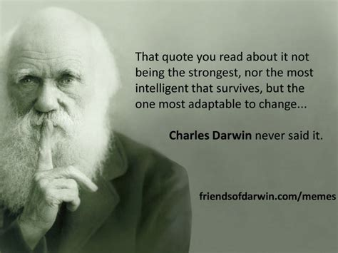 Memes About Change - charles darwin quotes image quotes at relatably com