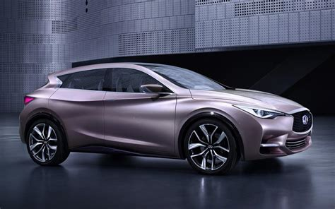 infiniti concept cars infiniti q30 concept car evo