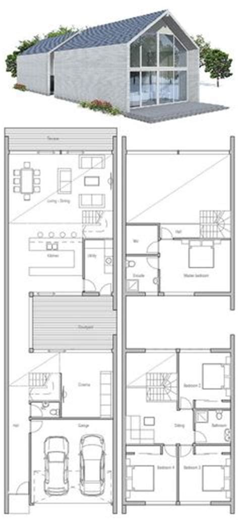 1000 Ideas About Narrow House On Pinterest Narrow House Small Lot House Plans Melbourne