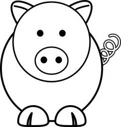 coloring pages pig head cooloring com