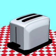 Toaster Animation animated gifs