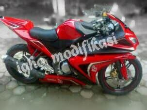 Belakang Vixion Nvl Model M1 igho modifikasi fighter style unlimited creation