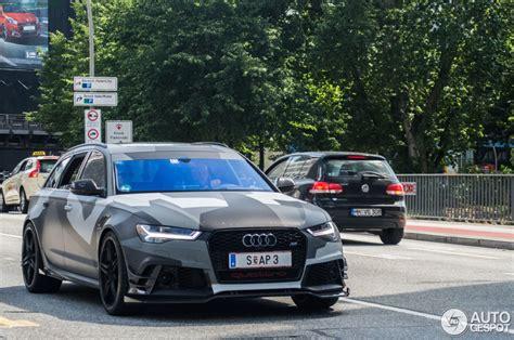Audi Rs6 R by Audi Abt Rs6 R Avant C7 2015 21 Juli 2015 Autogespot